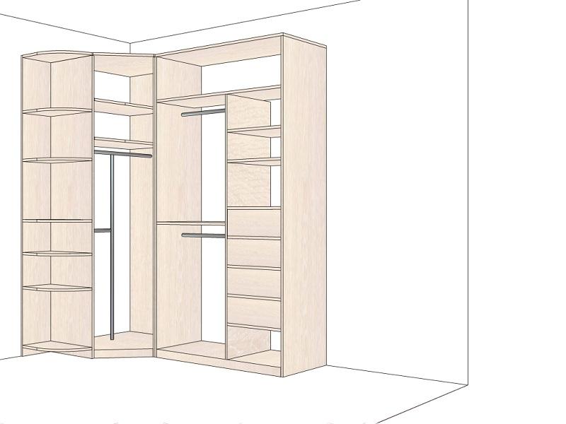 спальня шкаф внутри